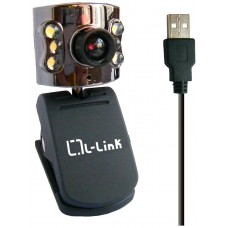 Webcam+Microfono 8.2 Mpxl L-Link