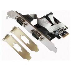 Tarjeta PCI Express Serie + Adaptador Perfil Bajo L-LINK (Espera 2 dias)