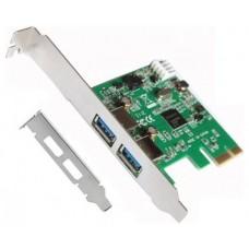 Tarjeta PCI Express USB 3.0 + Adaptador Perfil Bajo L-LINK (Espera 2 dias)