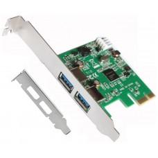TARJETA PCI EXPRESS USB 3.0 + ADAPTADOR PERFIL BAJO LL-PCIEX-USB (Espera 3 dias)