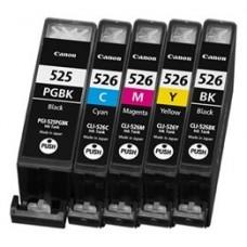 INKOEM Cartucho Compatible Canon CLI525BK Negro