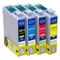 INKOEM Cartucho Compatible Epson T1812XL Cian