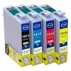 INKOEM Cartucho Compatible Epson T1813XL Magenta