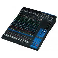 Yamaha MG16 Mix and production Analog 16 canales 20 - 48000 Hz Negro (Espera 4 dias)