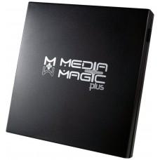 CAJA EXTERNA DVD PLASTICO NEGRO BRILLO MMP-110SB-F1 (Espera 3 dias)