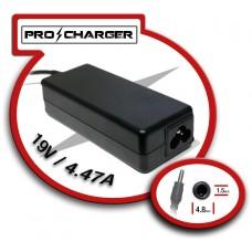 Carg. 19V/4.47A 4.8mm x 1.5 mm 90W Pro Charger (Espera 2 dias)