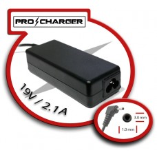 Carg. Ultrabook 19V/2.1A 3.0mm x 1.0mm 40w Pro Charger