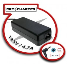 Carg. 19.5V/4.7A 4.5mm x 3mm 90W Pro Charger (Espera 2 dias)