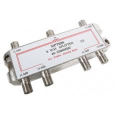 DISTRIBUIDOR STANDARD ENGEL DE 6 VIAS (5-2400Mhz) -