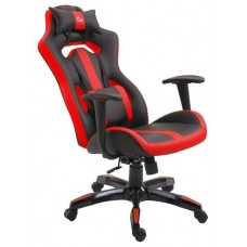 Silla Gaming GM500 Negro/Rojo MUVIP (Espera 2 dias)