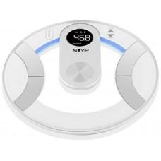 BÁSCULA DIGITAL BAÑO ROUND DESIGN (Sensores alta precisión, gran cantada LCD, apagad (Espera 2 dias)
