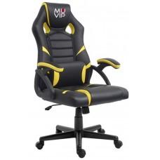 Silla Gaming GM1000 Negro/Amarillo MUVIP (Espera 2 dias)