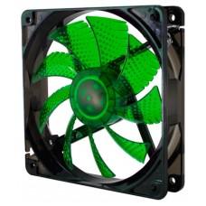 Nox Ventilador Caja Cool Fan 12cm Led Verde