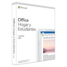 MICROSOFT OFFICE HOME AND STUDENT 1 usuario PC/MAC