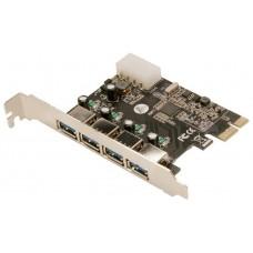 CONTROLADORA MINI-PCIE 4XUSB3.0 PCI-E LOGILINK