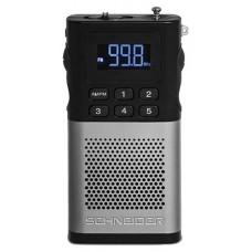 RADIO TURNER SCHNEIDER PICCOLO PLATA (Espera 4 dias)