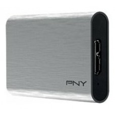 PNY ELITE PORTABLE SSD 240GB USB 3.0 PLATA (Espera 4 dias)