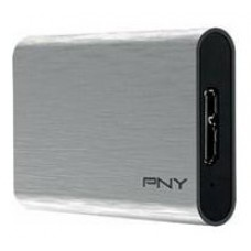 PNY ELITE PORTABLE SSD 480GB USB 3.0 PLATA (Espera 4 dias)