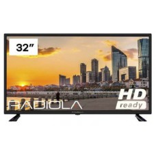 "Radiola LD32100K TV 32"" LED HD USB HDMI TDT2"