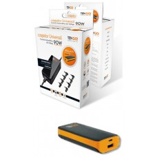 Kit Carg port Auto Multiboquillla 90W 8 Pines + PB 2.200 mHa