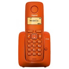 TELEFONO SIEMENS DECT GIGASET A120 NARANJA
