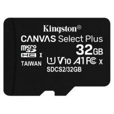 MEMORIA 32GB CANVAS SELECT PLUS MICRO SD KINGSTON (Espera 4 dias)
