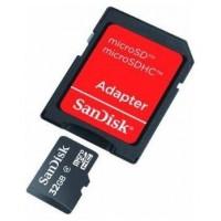 MEMORIA MICRO SD 32GB SANDISK CON 1 ADAPTADOR