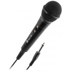 NGS - Microfono Singer Fire - Jack de 6.3MM - Boton (Espera 3 dias)