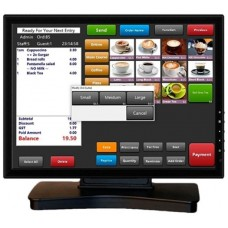 VivaPos Monitor Táctil 17 T1705 LCD USB Negro