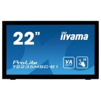 """iiyama ProLite T2235MSC 21.5"""" 1920 x 1080Pixeles Multi-touch Mesa Negro monitor pantalla táctil (Espera 2 dias)"""