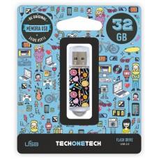 MEMORIA USB TECH ONE TECH CANDY POP 32 GB