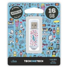 PENDRIVE TECH1TECH-MUSIC D 16GB