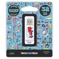 MEMORIA USB TECH ONE TECH CAMPER VAN-VAN 32 GB