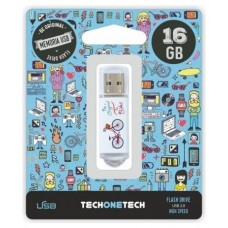 PENDRIVE TECH1TECH-BE BIKE 16GB