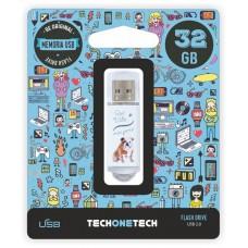 MEMORIA USB TECH ONE TECH QUE VIDA MAS PERRA 32 GB