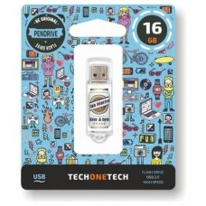 PENDRIVE 16GB TECH ONE TECH BEERS   BYTES SAN MIDRIVE CERVE