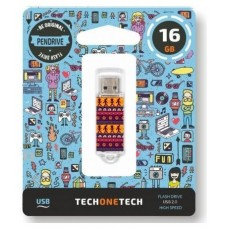 PENDRIVE TECH1TECH-TRIBAL 16GB
