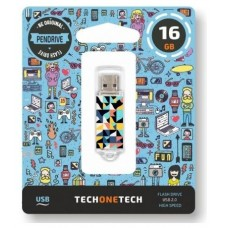 PENDRIVE TECH1TECH-KALEY 16GB