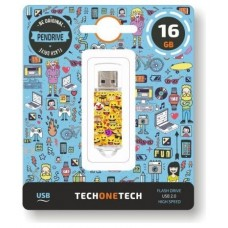 PENDRIVE TECH1TECH-EMOJIS 16GB