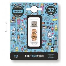 PENDRIVE TECH1TECH-NO EVIL 32GB