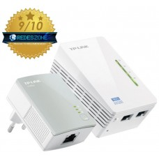 KIT 2 ADAPTADOR DE HOMEPLUG TP-LINK TL-WPA4220KIT