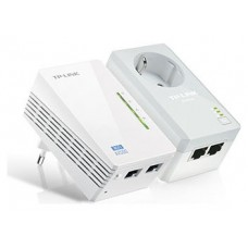 POWERLINE TP-LINK 300MBPS WIFI 2PETH (KIT