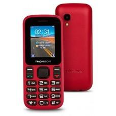 THOMSON T12 Telefono Movil 1.77 BT DualSim Rojo