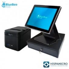 Pack TPV - TPV compacto Bluebee BB-04 (Cel/4GB/64GB) +