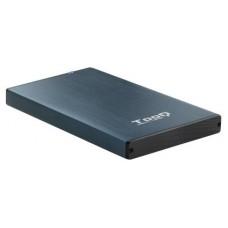 CAJA EXTERNA 2.5 TOOQ 95 MM SATA USB 3.0/3.1 GEN1 AZUL