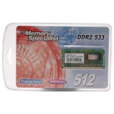 TRANSCEND 512MB MODULE DDR2 GAN18 (Espera 3 dias)