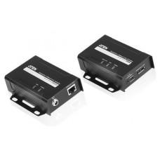 Aten VE901 extensor audio/video Transmisor y receptor de señales AV Negro (Espera 4 dias)
