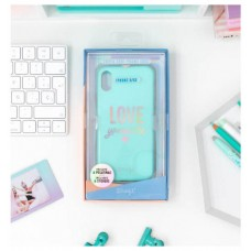 CARCASA IPHONE X/XS THE POWERFUL COLLECTION-LOVE YOURSELFIE MR. WONDERFUL (Espera 4 dias)