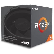 MICRO  AMD AM4 RYZEN 5 2600 3.4GHZ 16MB BOX